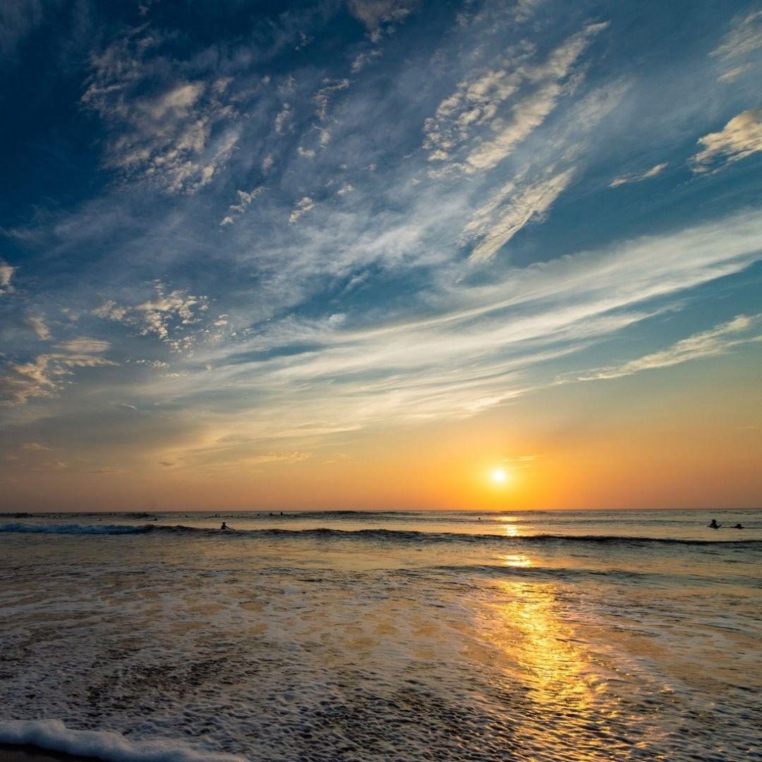 一松海岸の日の出